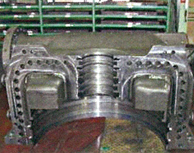 蒸気タービン発電機部品